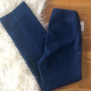 NWT Alia straight leg jegging style jeans